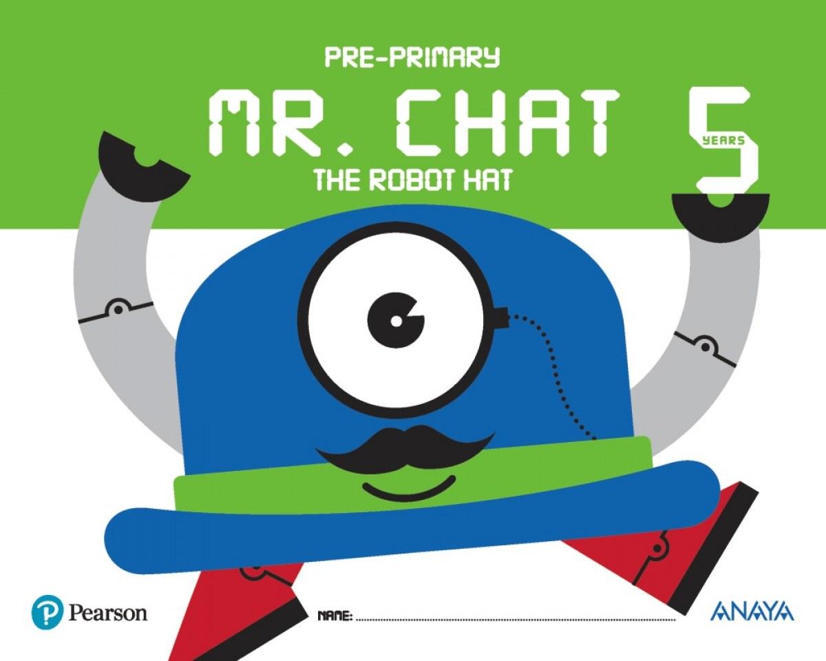 Resultado de imagen de mr chat the robot 5 años