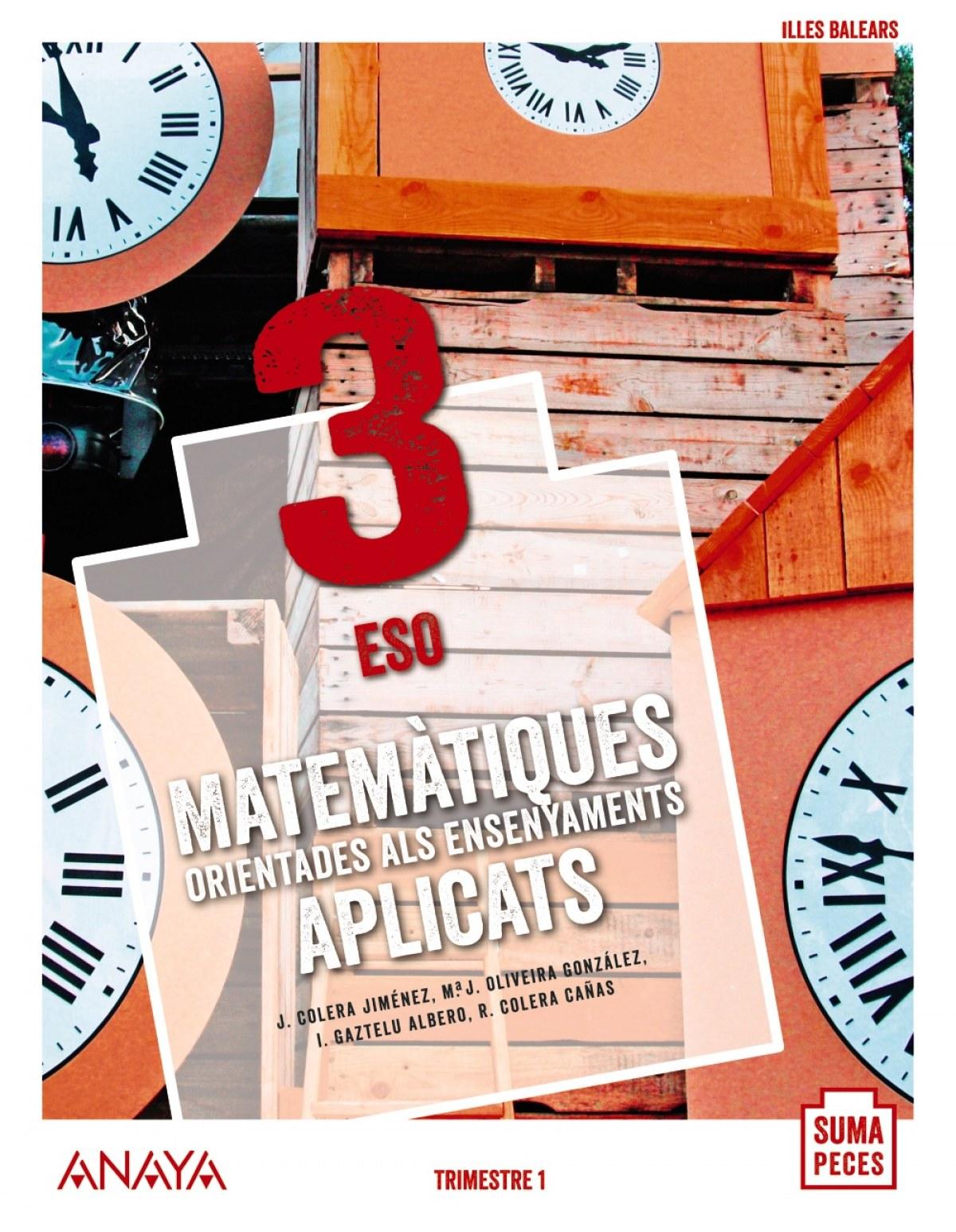 Matemàtiques orientades als ensenyaments aplicats 3.