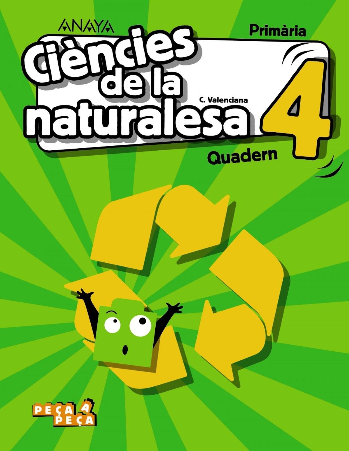 Ciències de la naturalesa 4. Quadern.