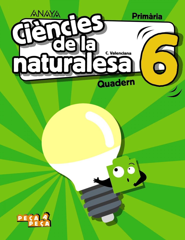 Ciències de la naturalesa 6. Quadern.