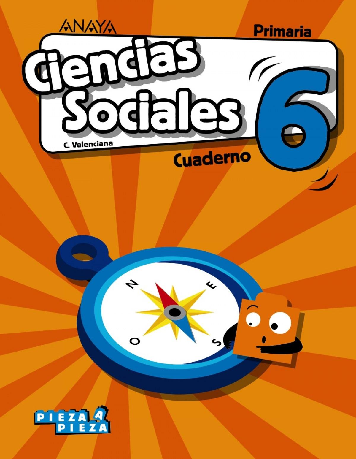 Ciencias Sociales 6. Cuaderno.