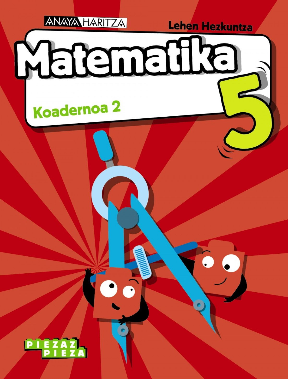 Matematika 5. Koadernoa 2.