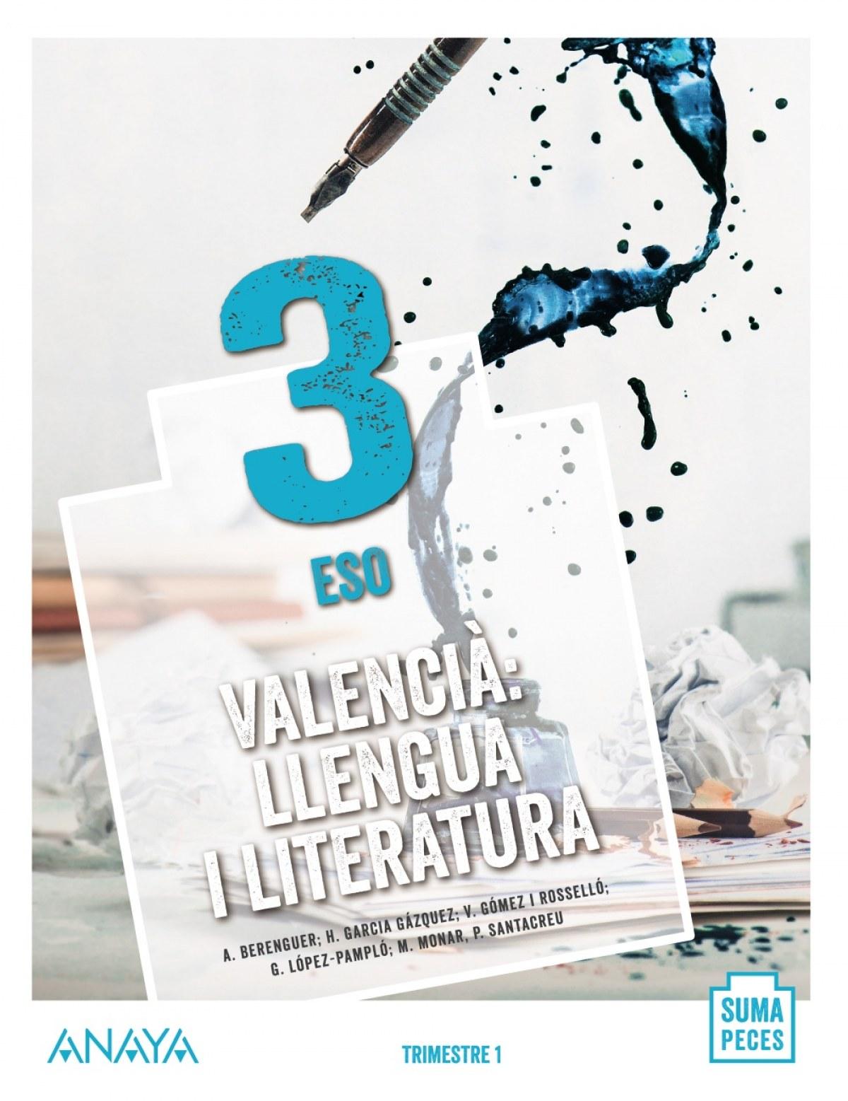 Valencià: llengua i literatura 3.