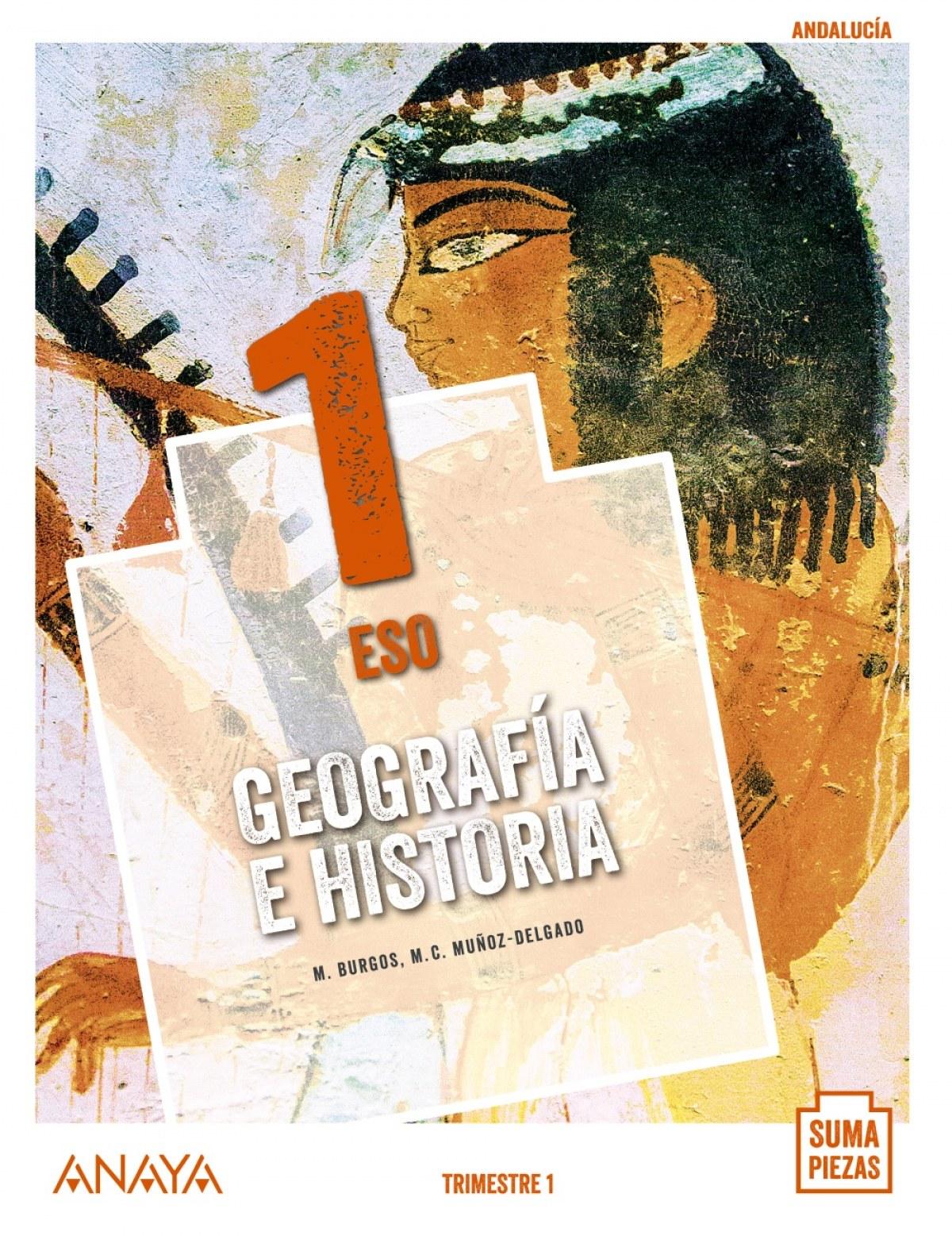 Geografía e Historia 1. (Trimestres - Colegios Bilingües)