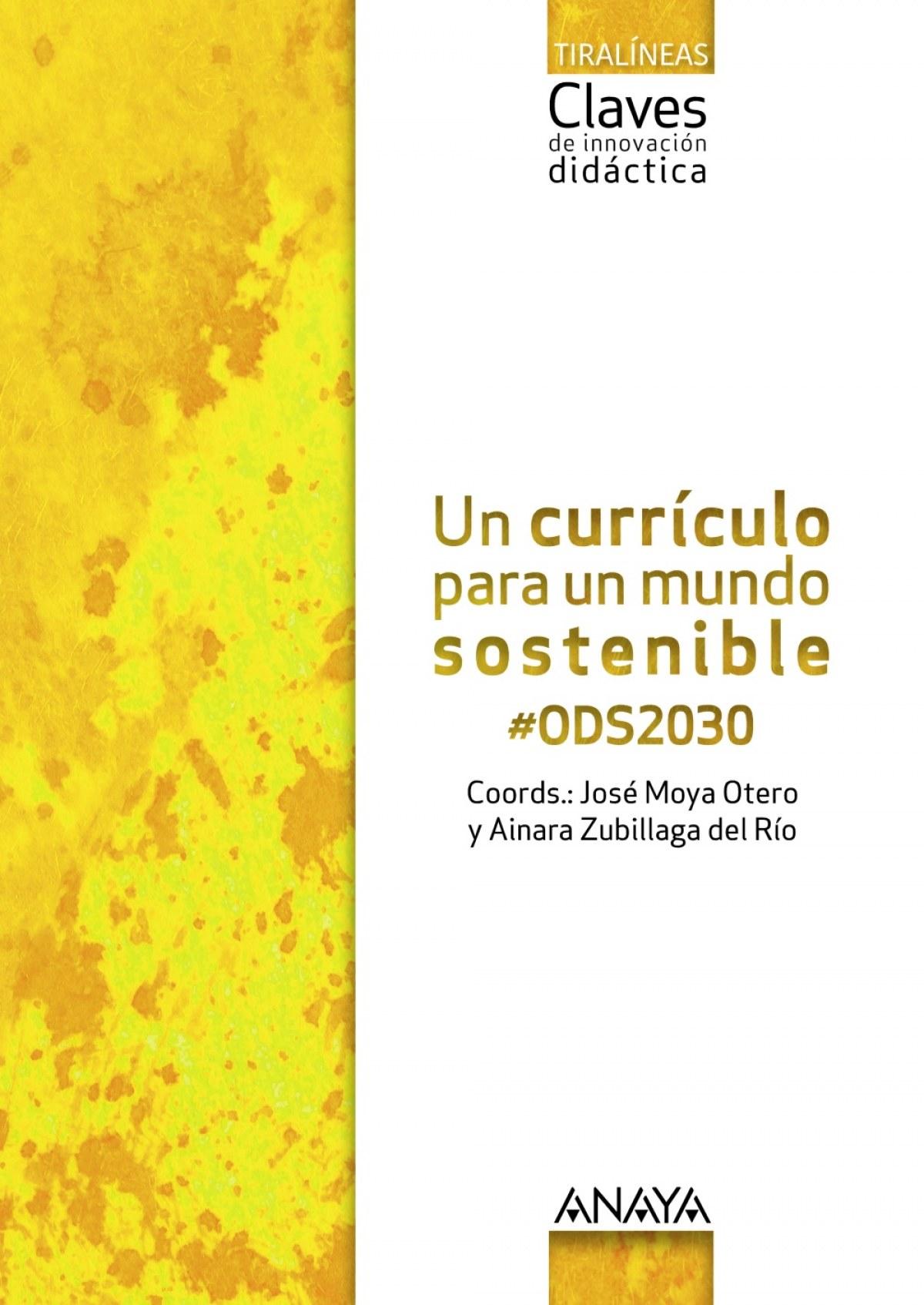 Un currículo para un mundo sostenible #ODS2030.