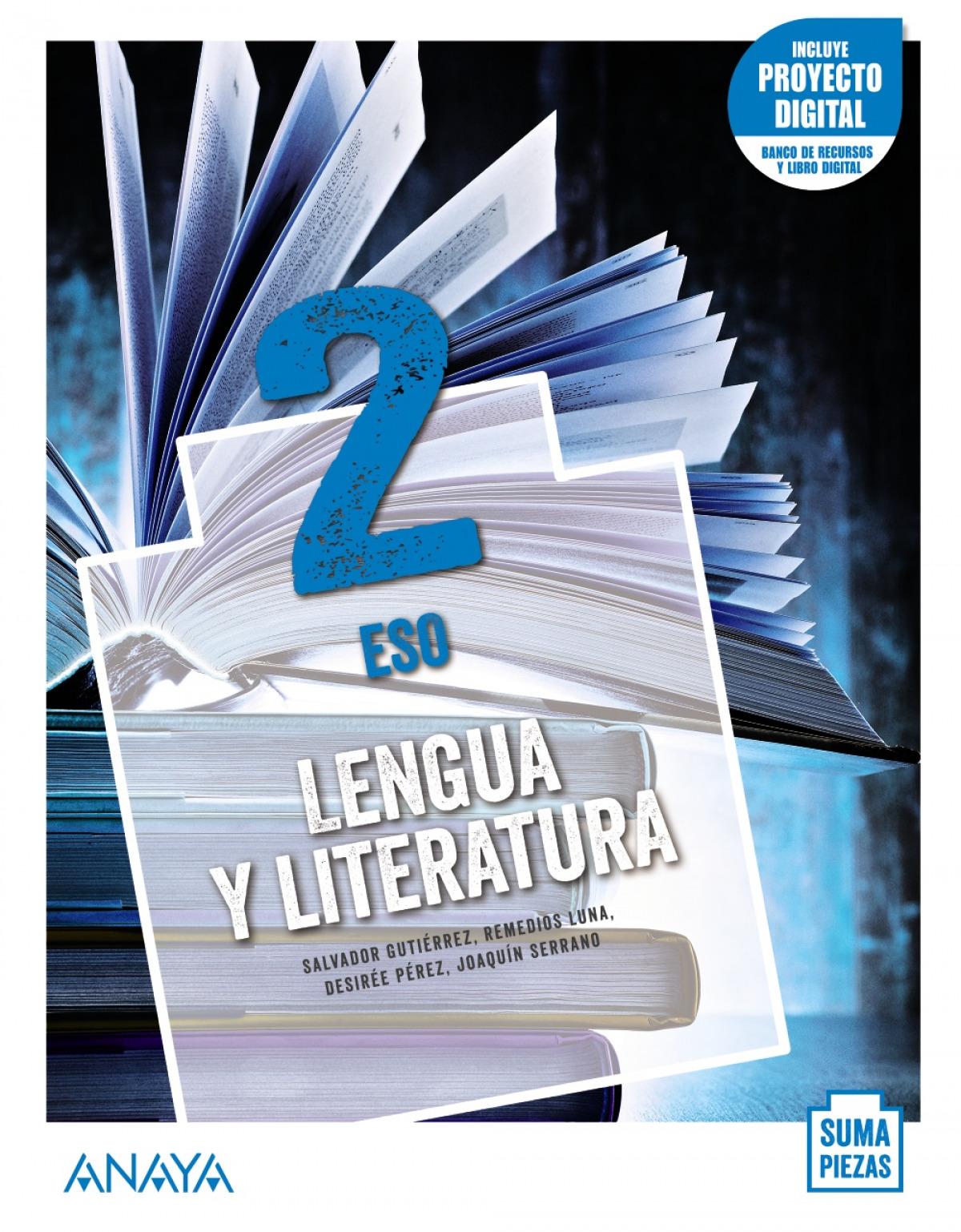 ESO 2 LENGUA Y LITERATURA (AND). + TALLER COMPRENSIÓN ORAL 2021