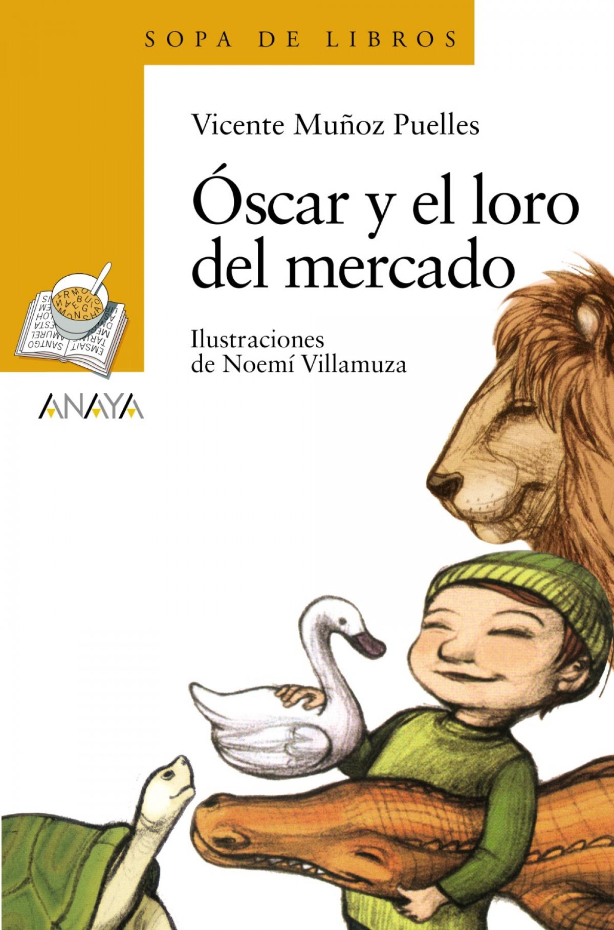 Óscar y el loro del mercado