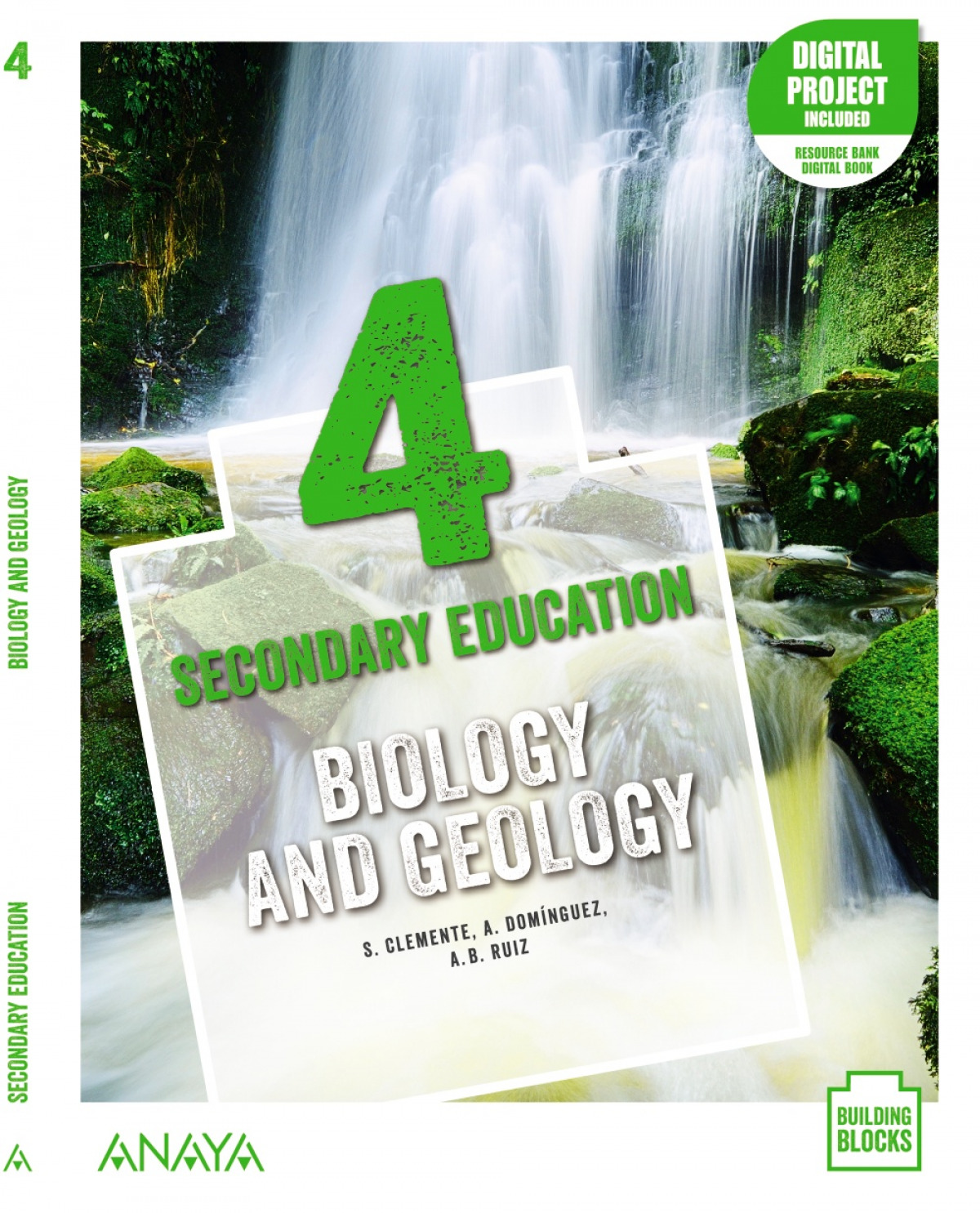 Biology and Geology 4. Student's Book