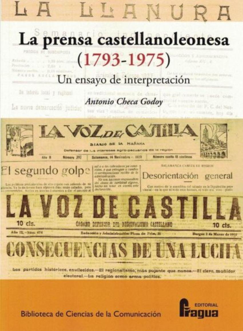 La prensa castellanoleonesa (1793-1975) Un ensayo de interpretaci