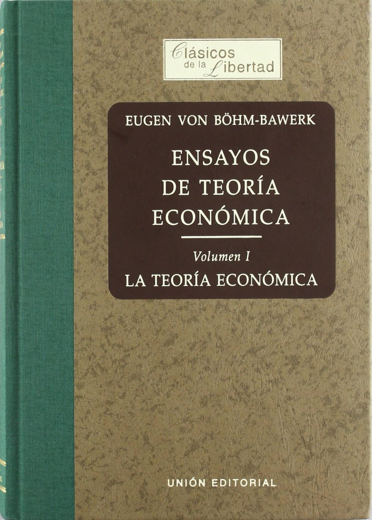 Ensayos De Teoria Economica Vol I