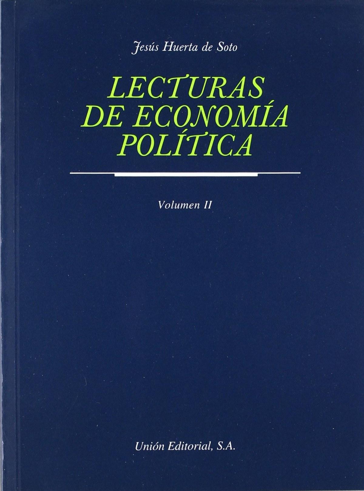 Lecturas De Economia Politica Ii