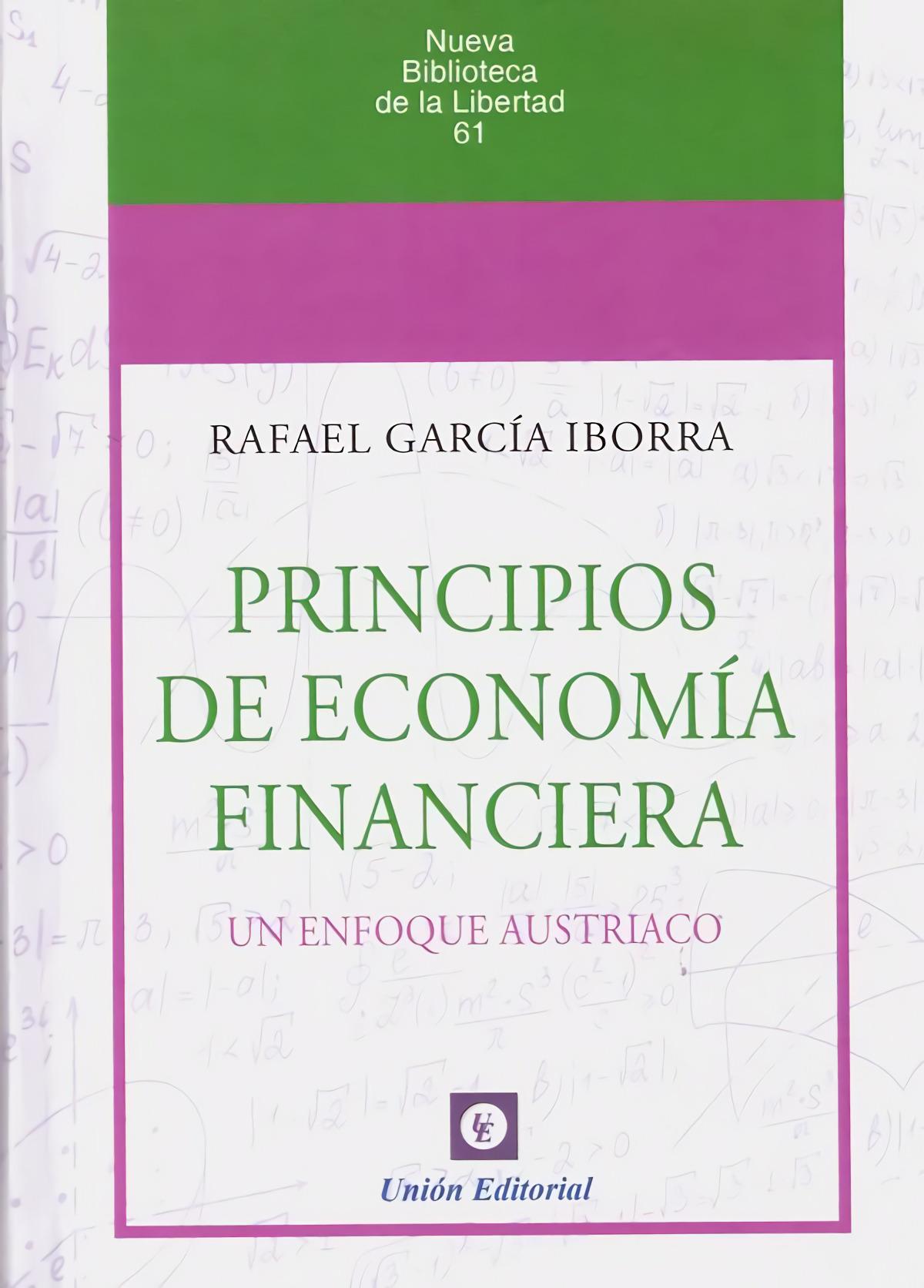 PRINCIPIOS DE ECONOMIA FINANCIERA.