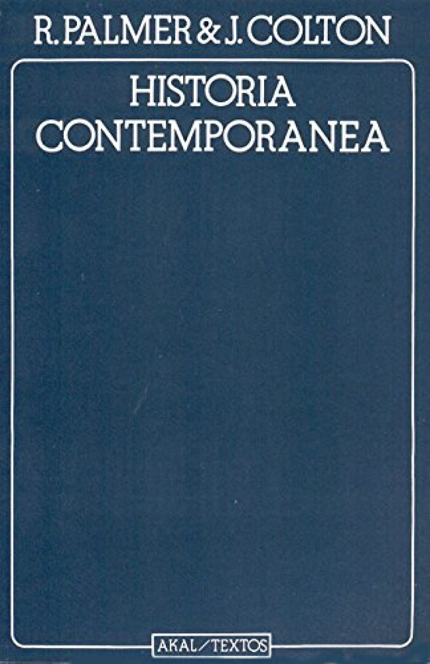 Historia contemporanea 9788473394765