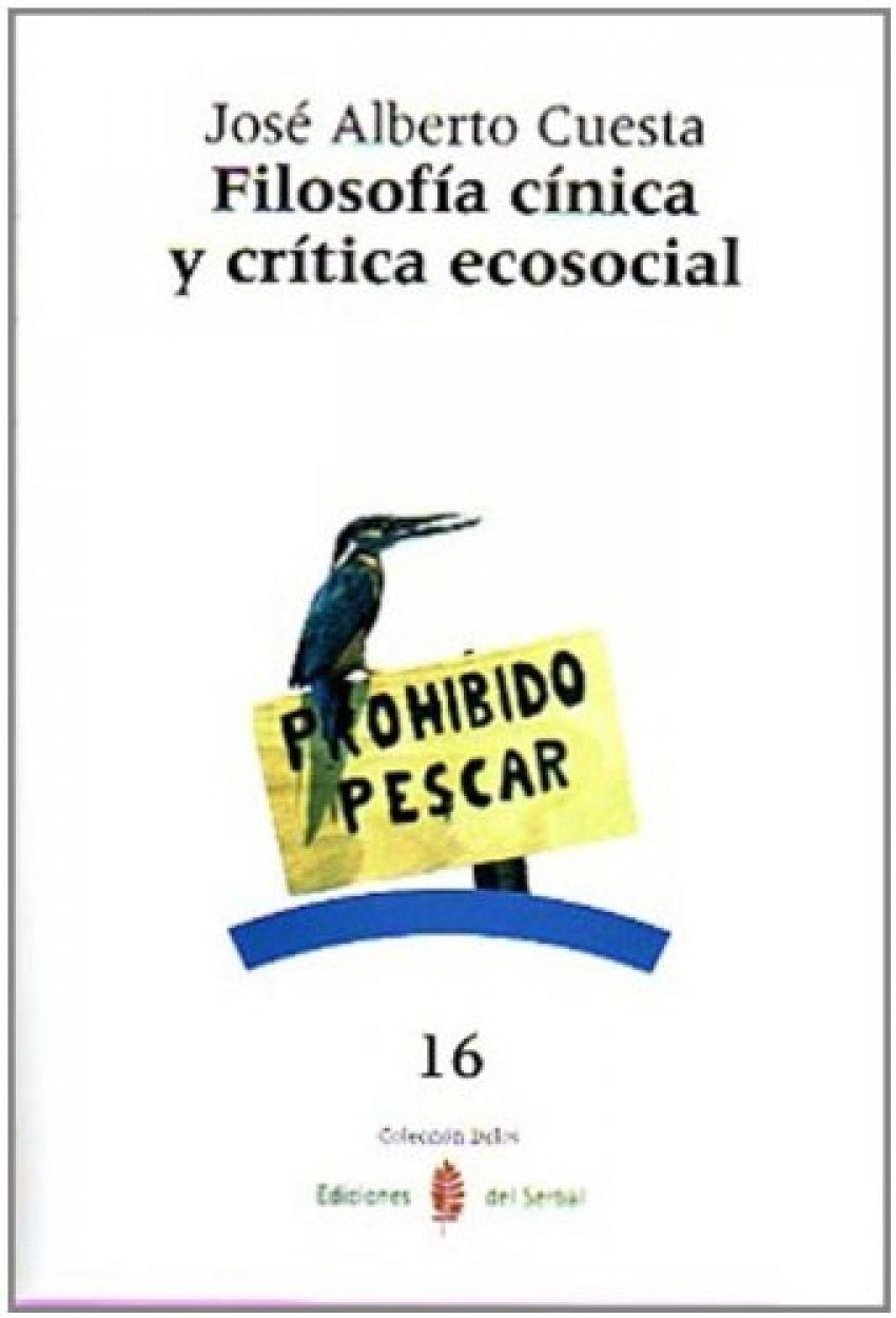 FILOSOFIA CINICA Y CRITICA ECOSOCIAL