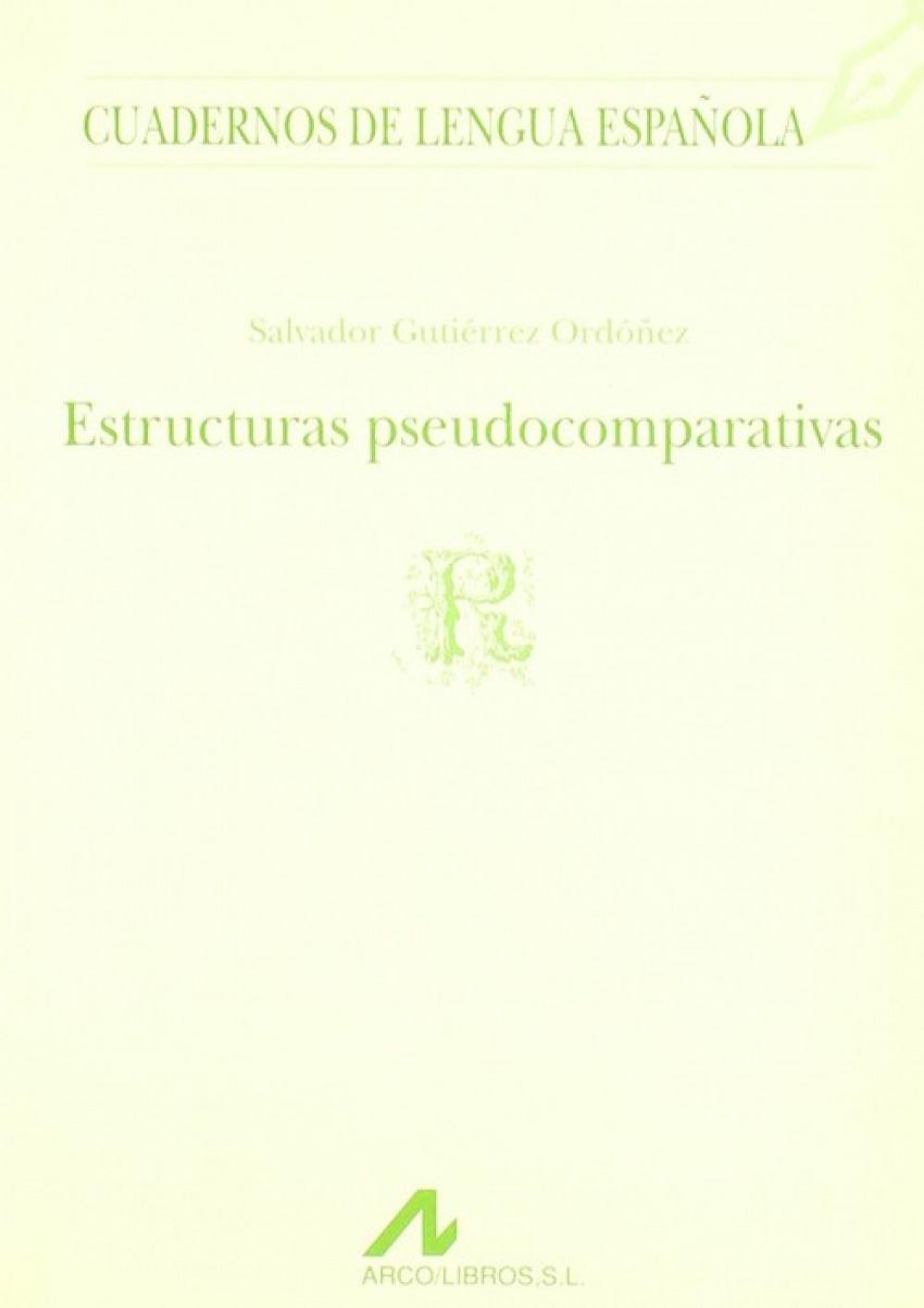 Estructuras pseudocomparativas
