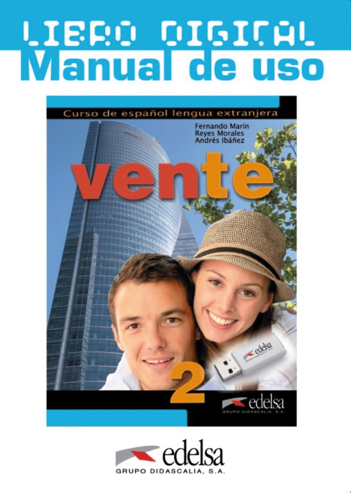 Vente 2 (B1+) - libro digital + manual de uso profesor