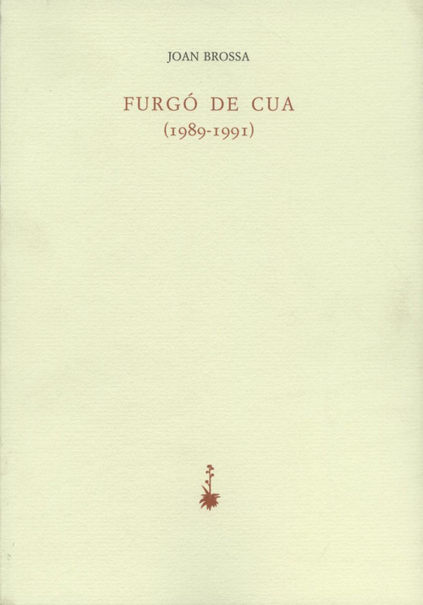 FURGÓ DE CUA