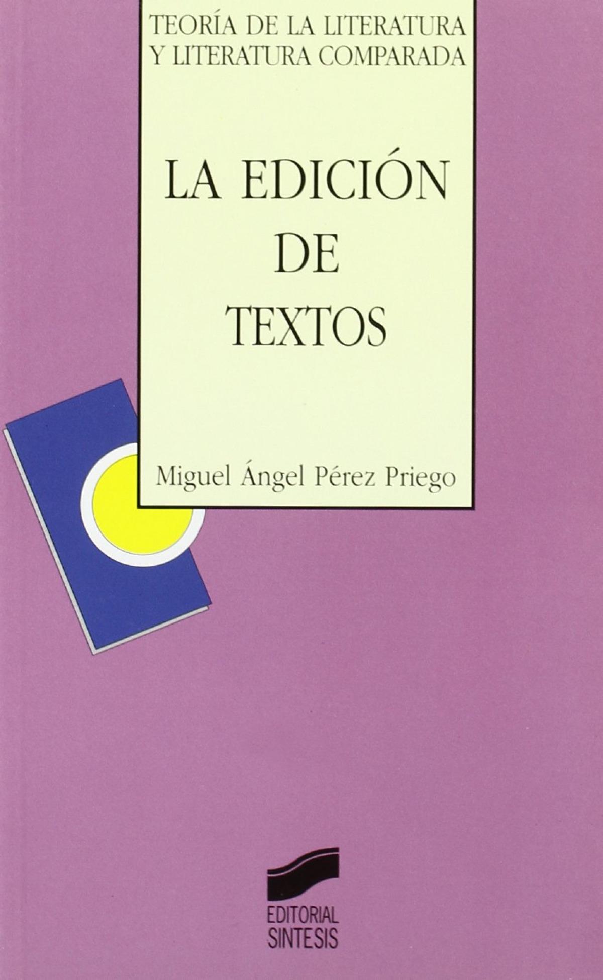 EDICION DE TEXTOS, LA