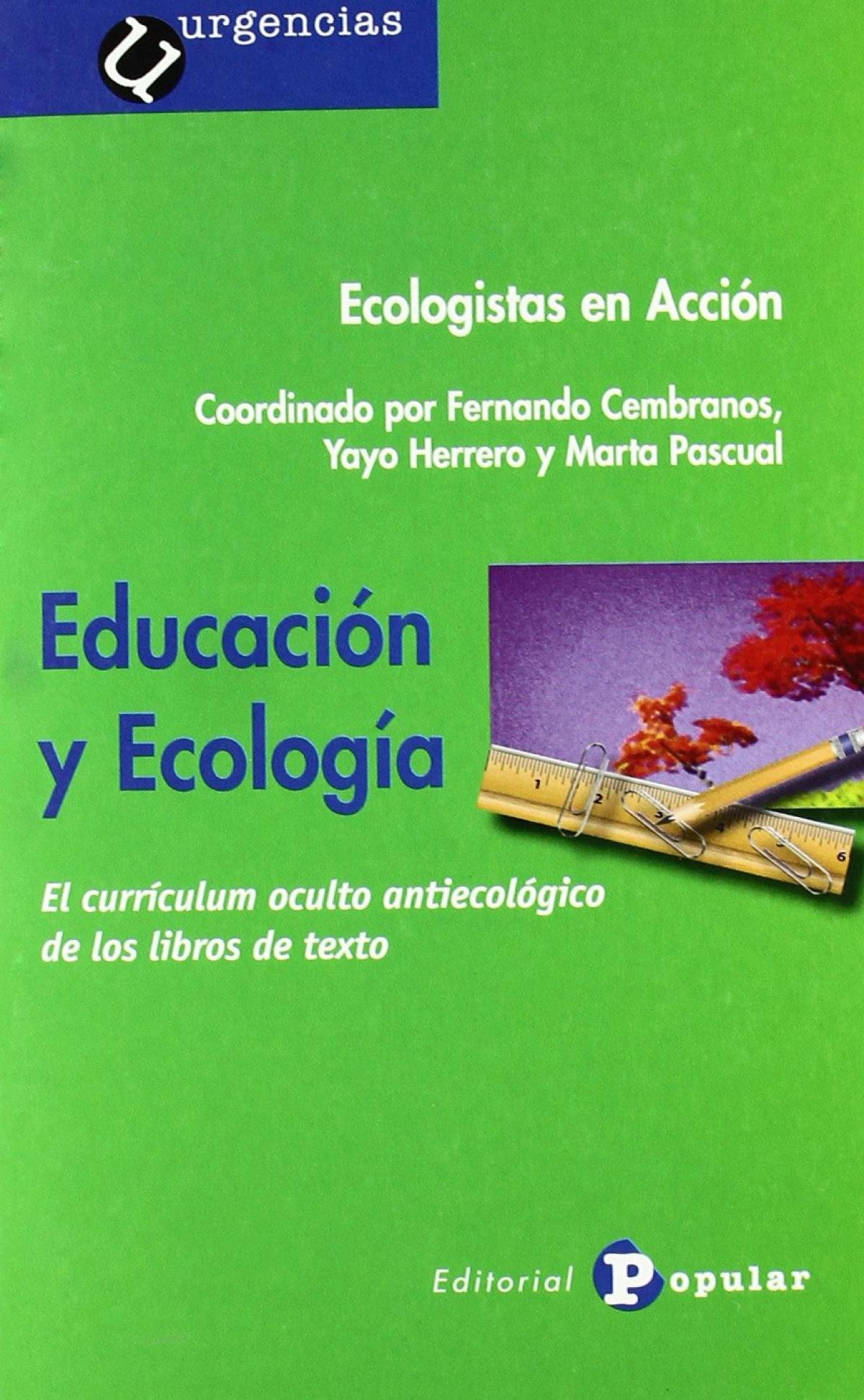 Educación y ecología