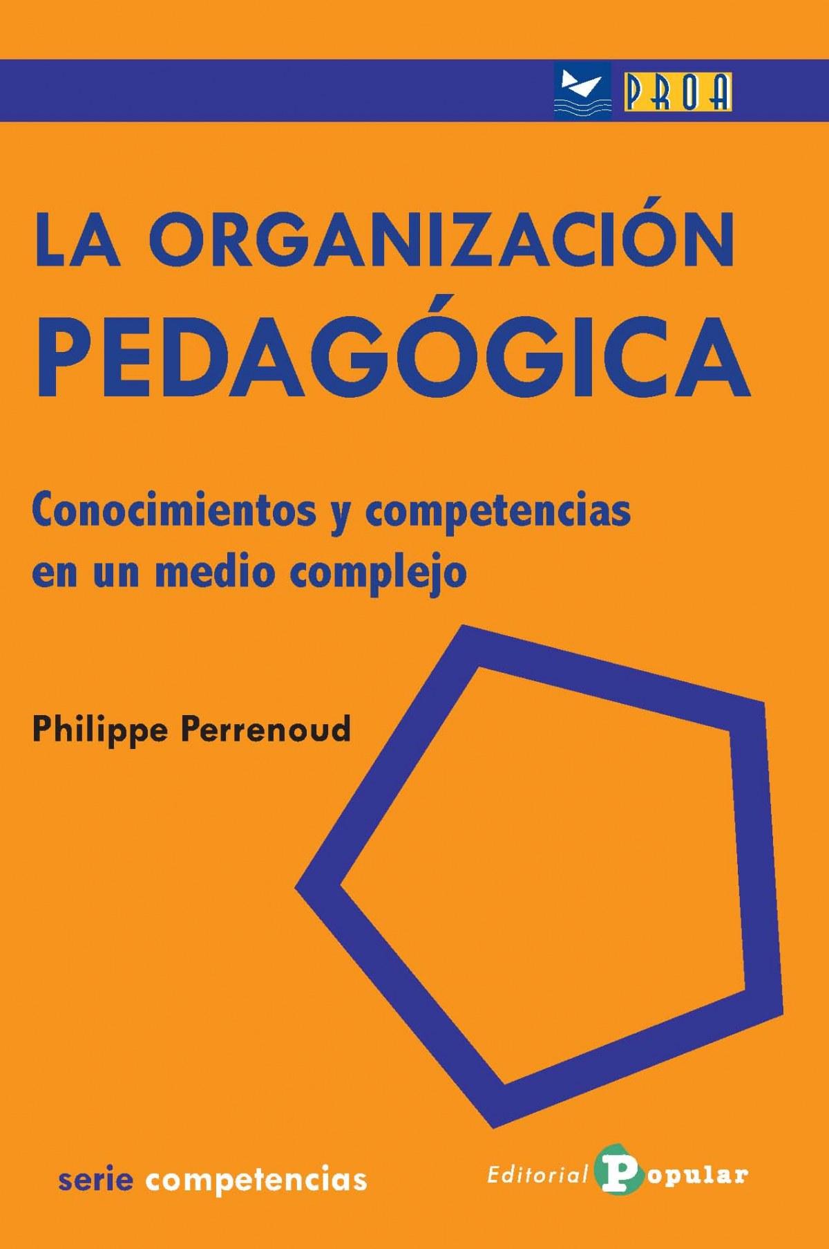 La organización pedagógica