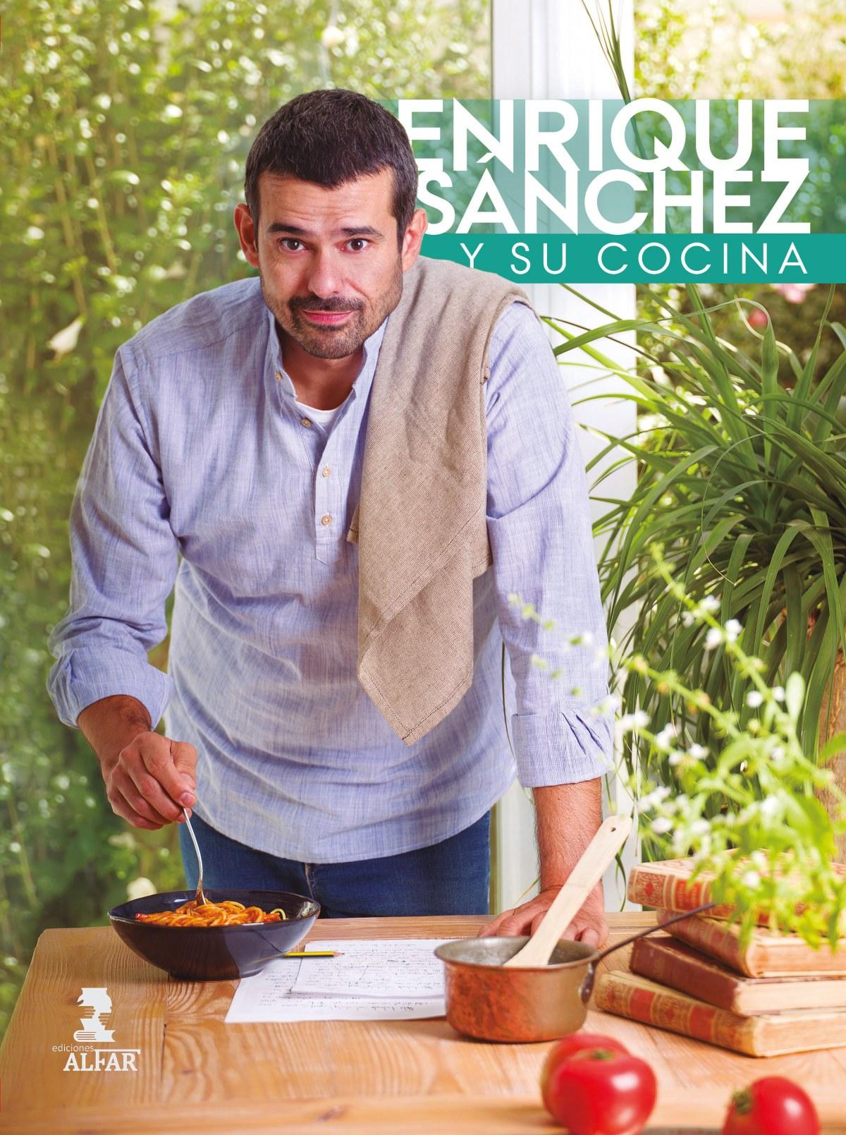Enrique Sánchez y su cocina