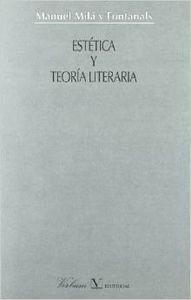 Estética y teoría literaria