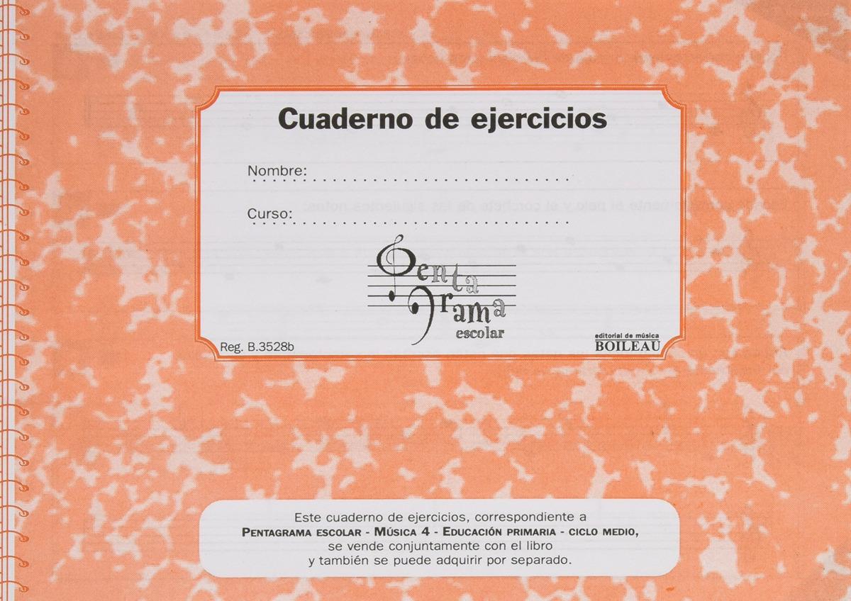 Pentagrama Escolar 4. CD + Cuaderno de ejercicios (C)