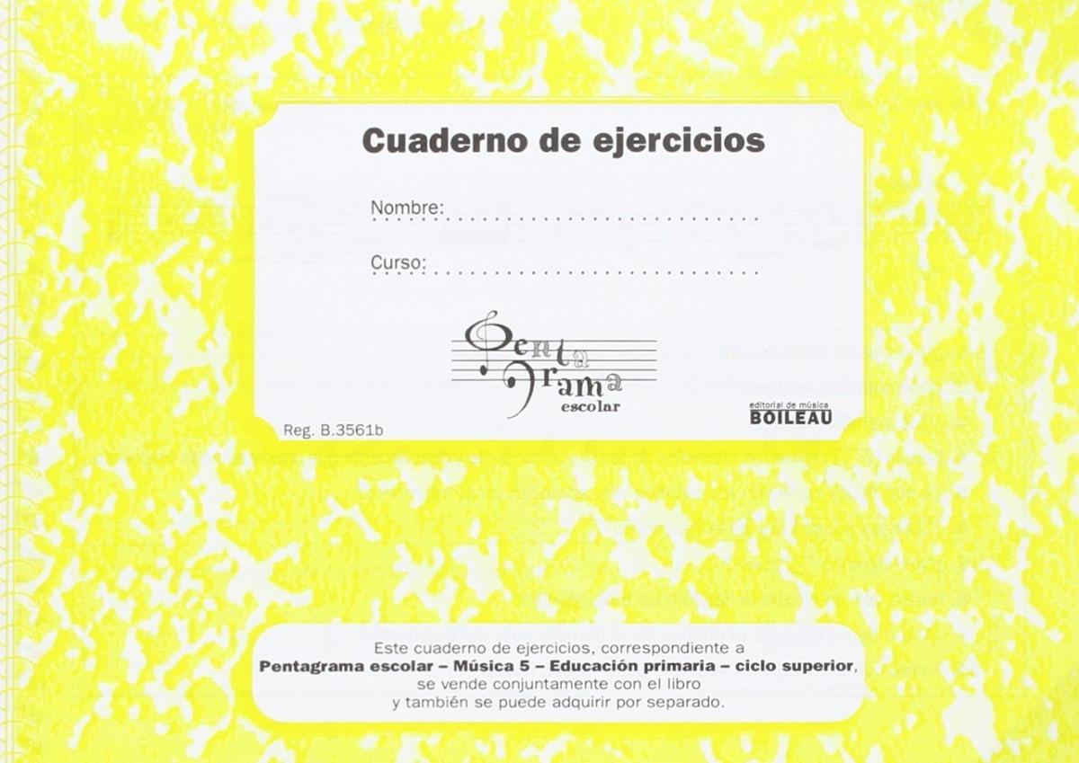 Pentagrama Escolar 5. CD + Cuarderno de ejercicios (C)