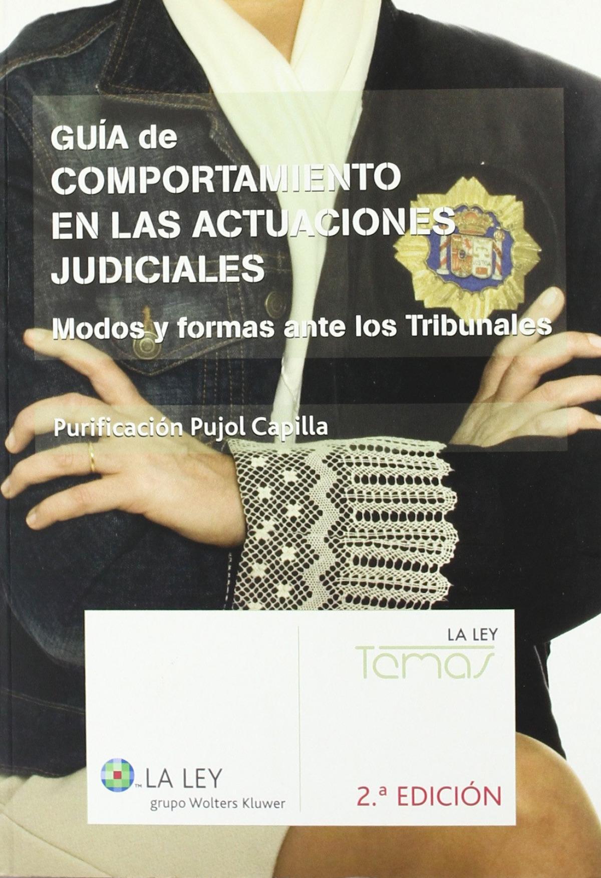 GUIA COMPORTAMIENTO ACTUACIONES JUDICIALES