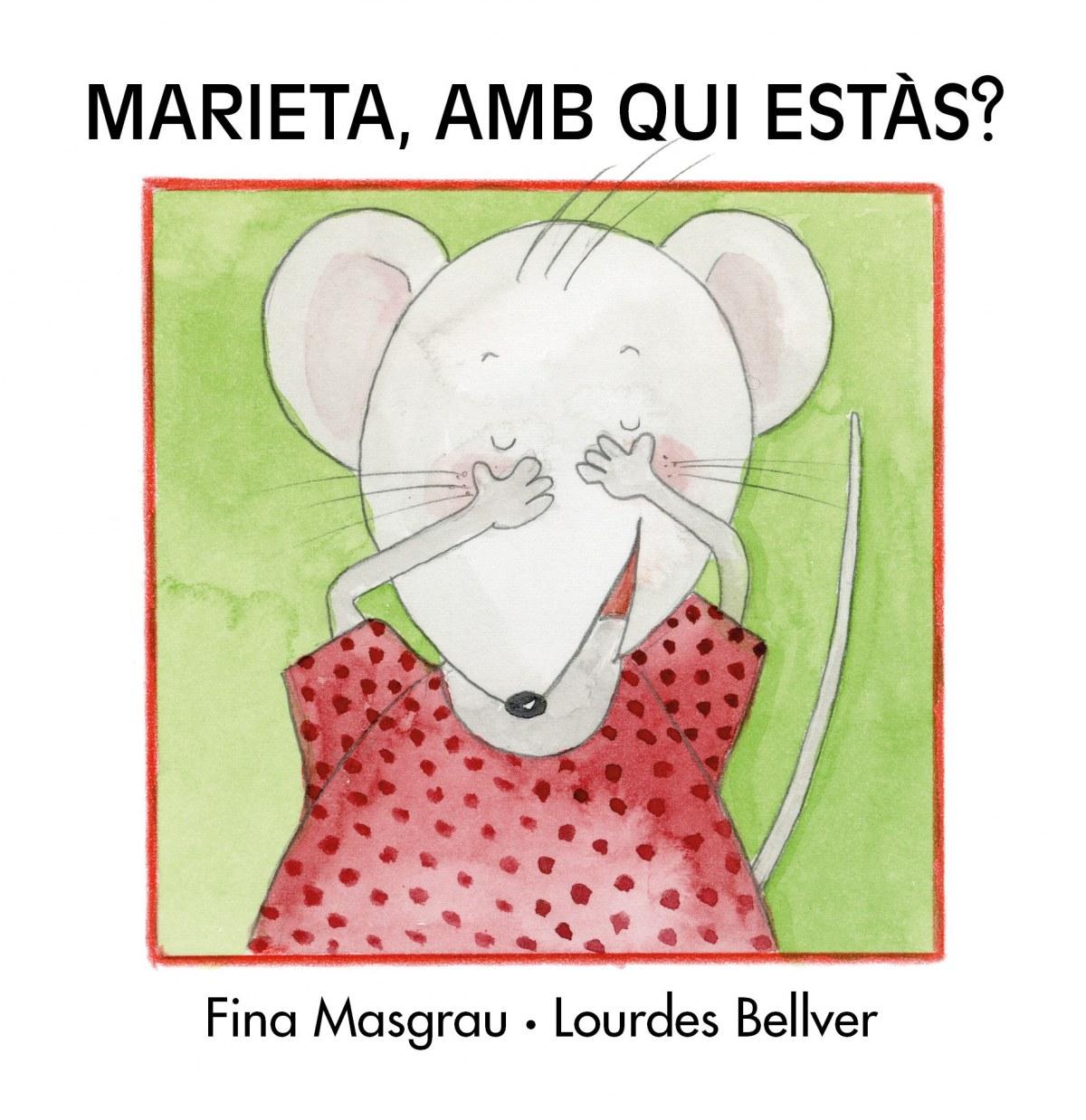 Marieta, amb qui estas? letra manuscrita