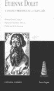 Etienne dolet y cinco principios de traduccion