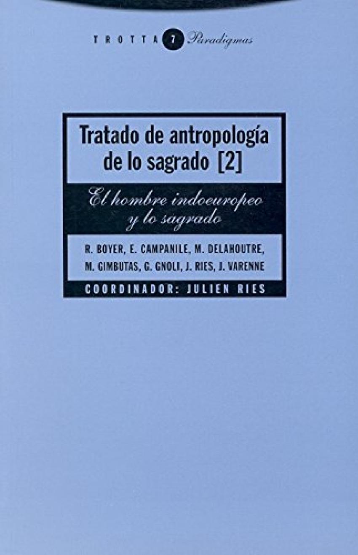 Tratado de antropología de lo sagrado 2