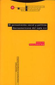 PENSAMIENTO SOCIAL Y POLITICO OBEROAMERICANO SIGLO XIX