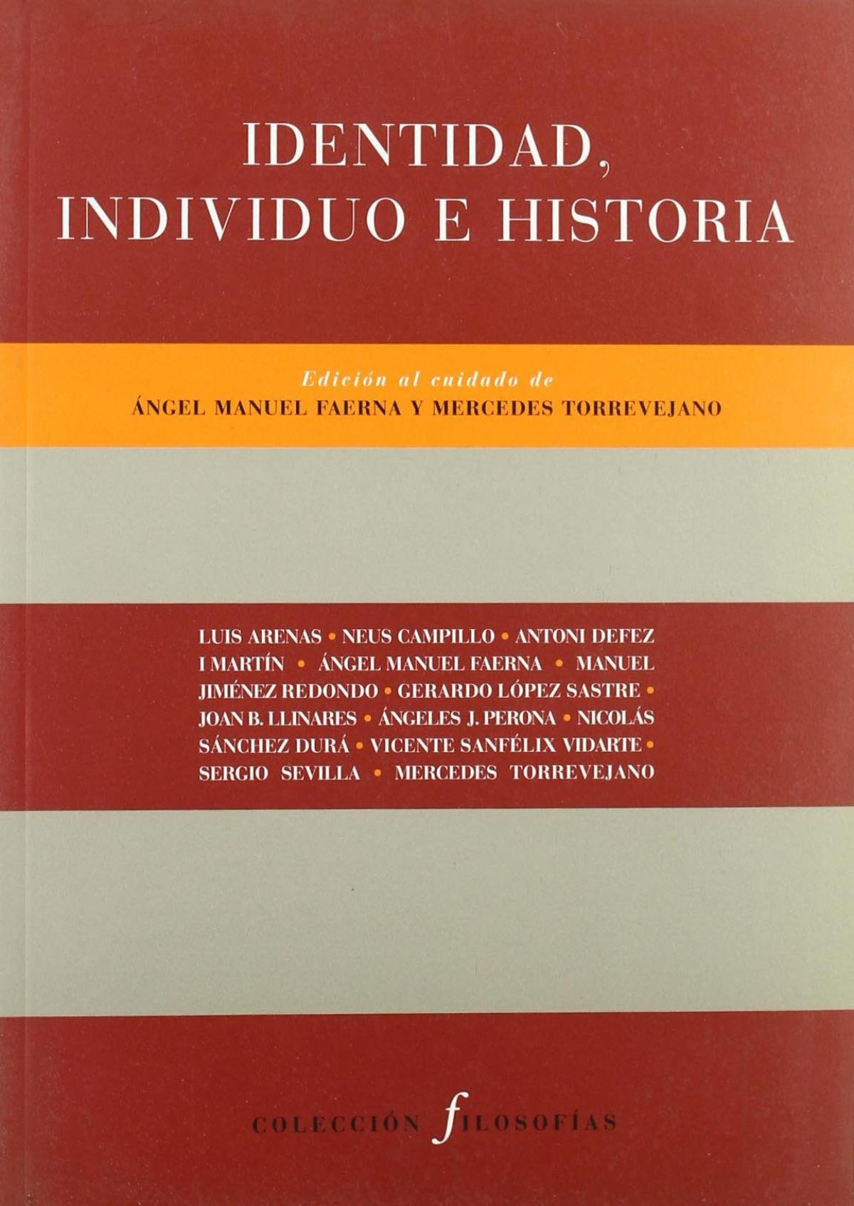 áIndividuo, identidad e historia