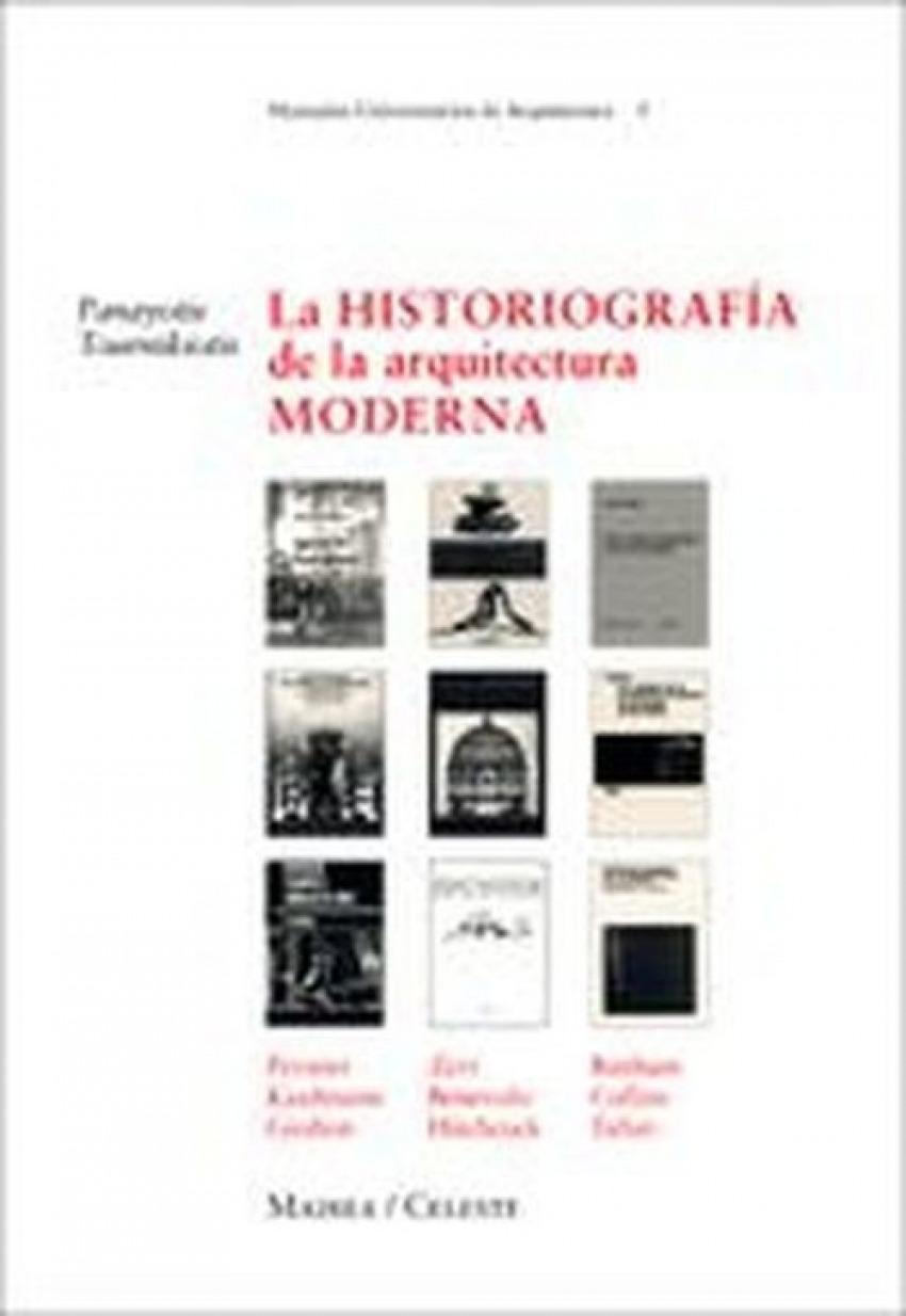 Historiografía de la arquitectura moderna