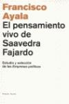 El pensamiento vivo de Saavedra Fajardo