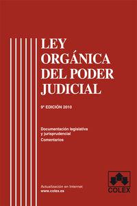 Ley orgánica poder judicial