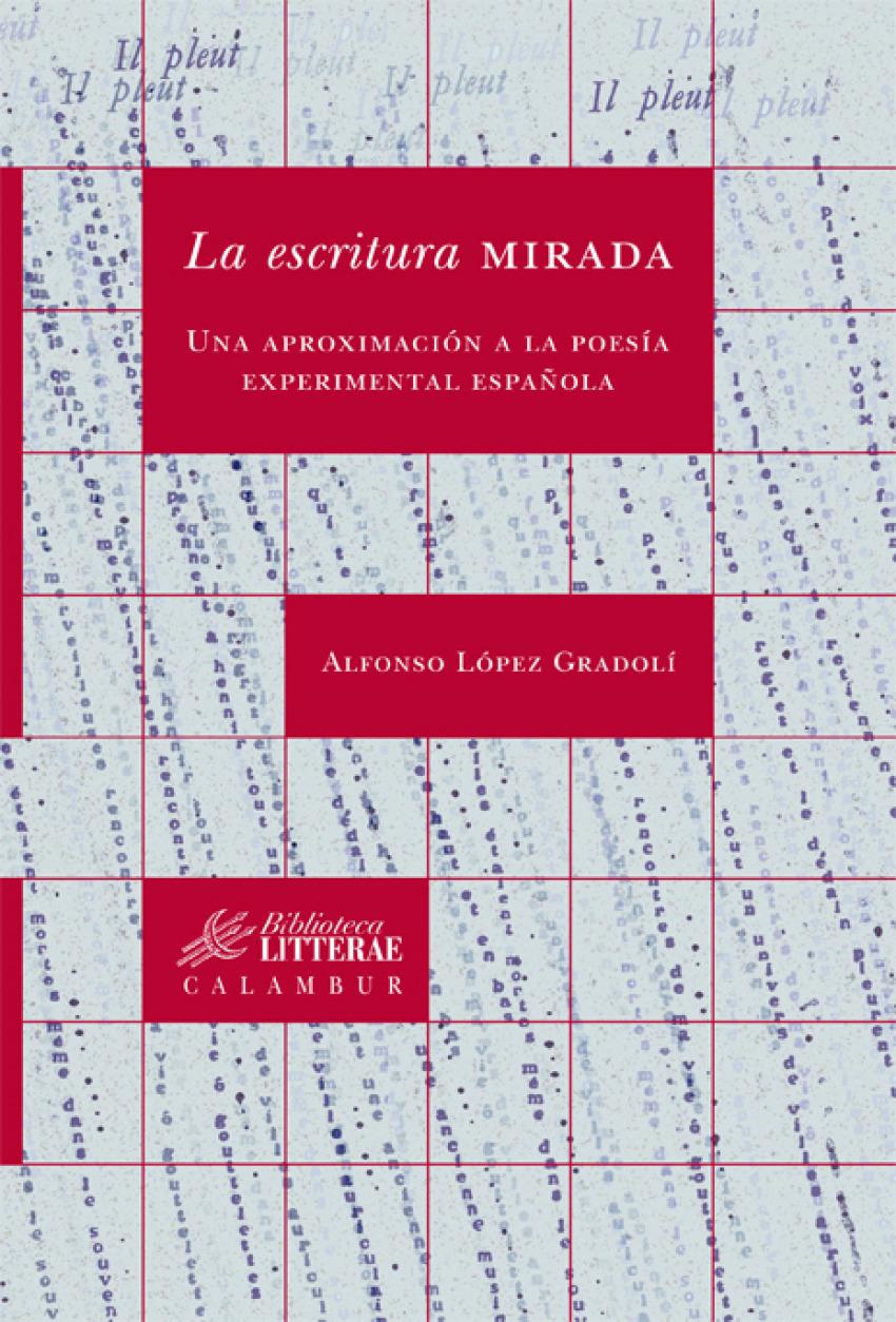 La escritura mirada:una aproximación a la poesía experimental española 97884835