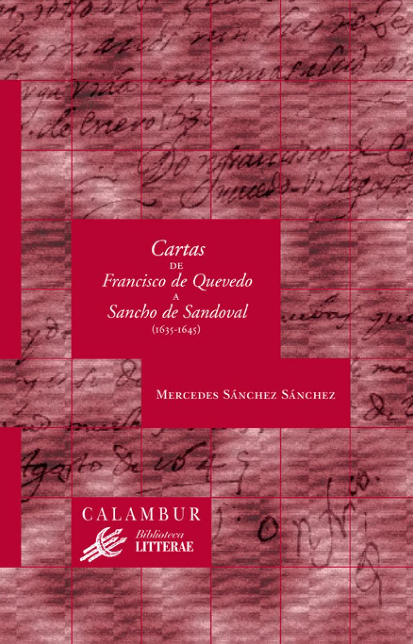 Cartas Francisco de Quevedo Sancho Sandoval 9788483590515