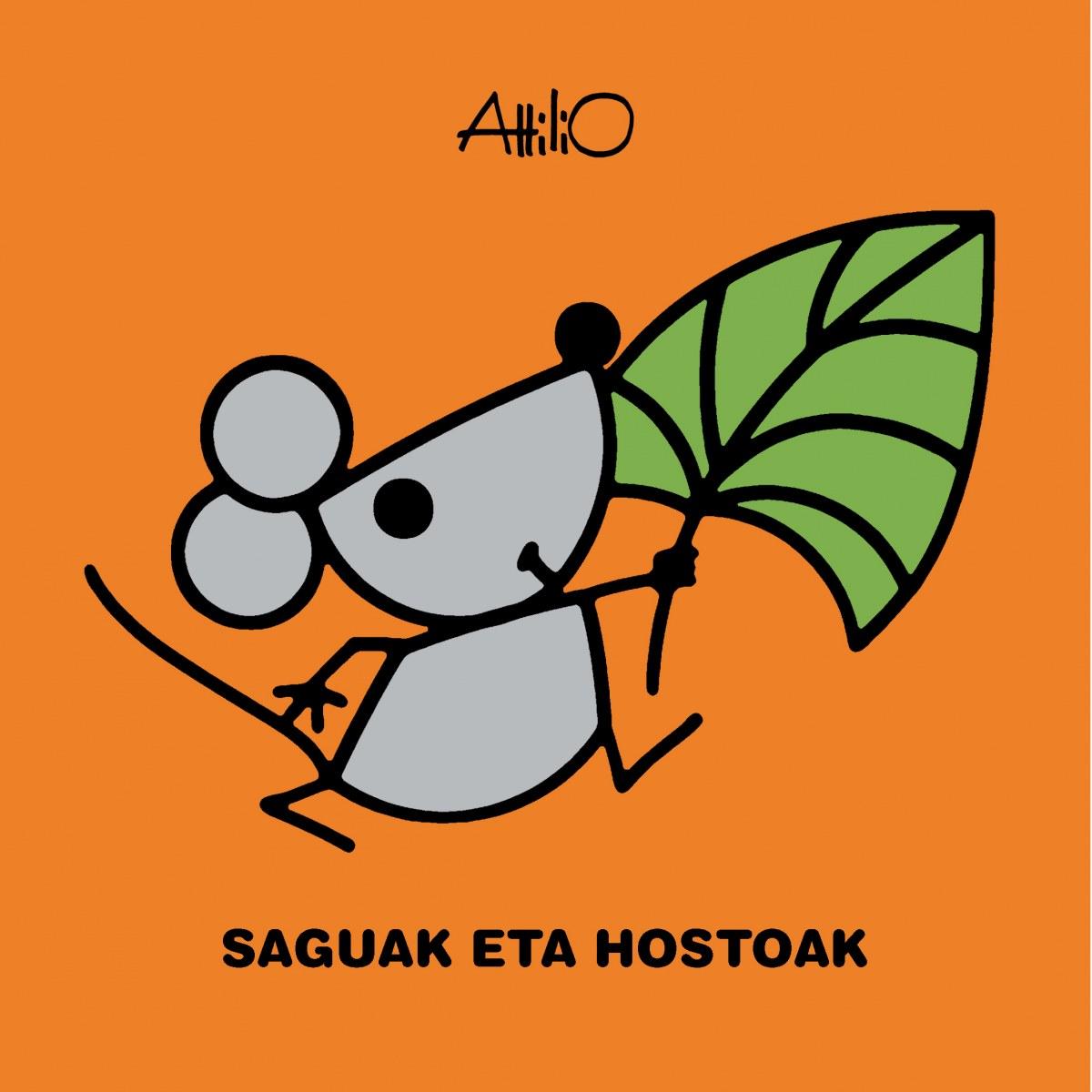 SAGUAK ETA HOSTOAK (título en cast. Los ratones y las hojas)