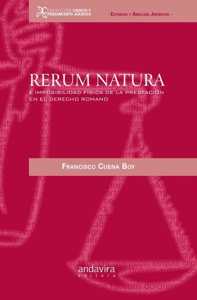 Rerum natura imposibilidad fisica prestacion derecho romano