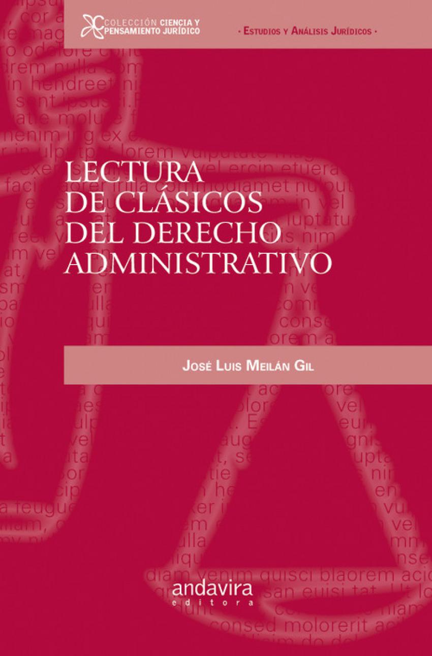 Lectura de clsicos del derecho administrativo