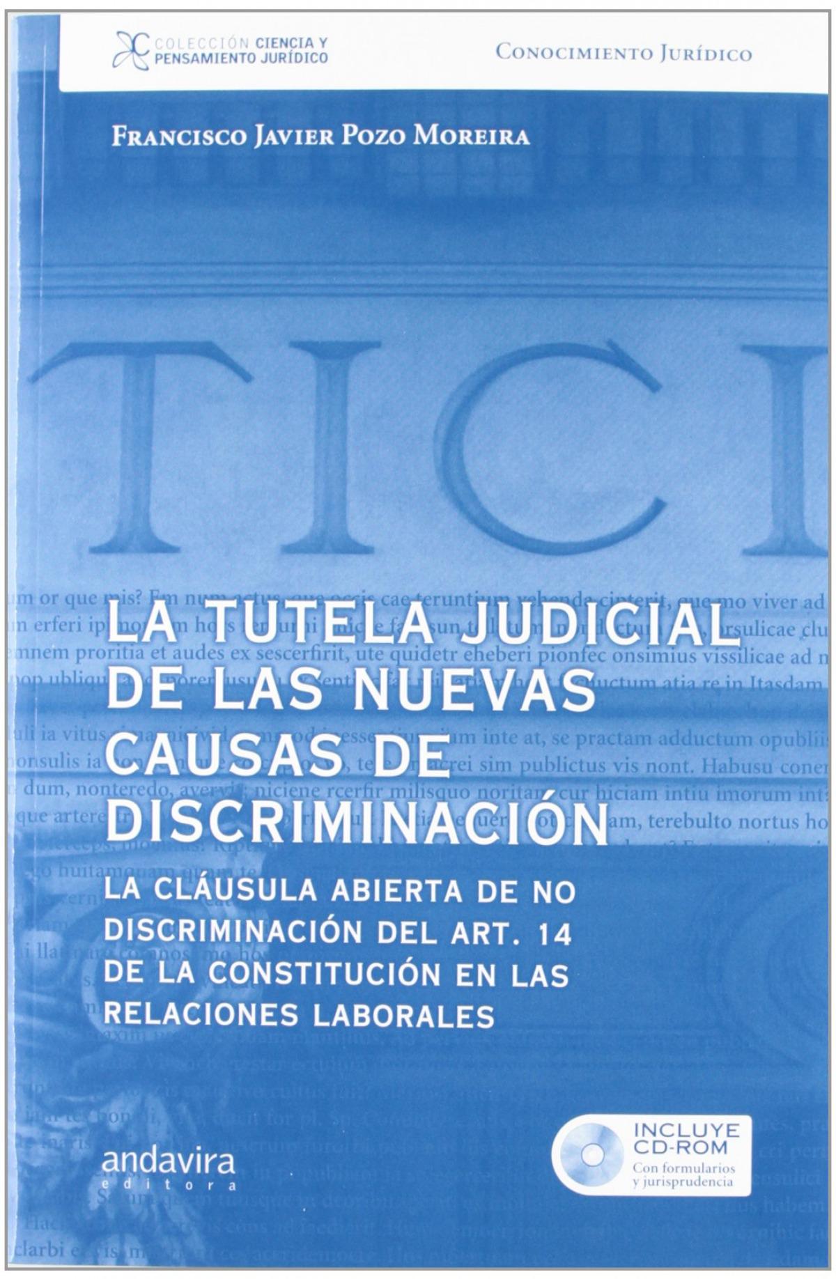 La tutela judicial de nuevas causas de discriminaci¢n