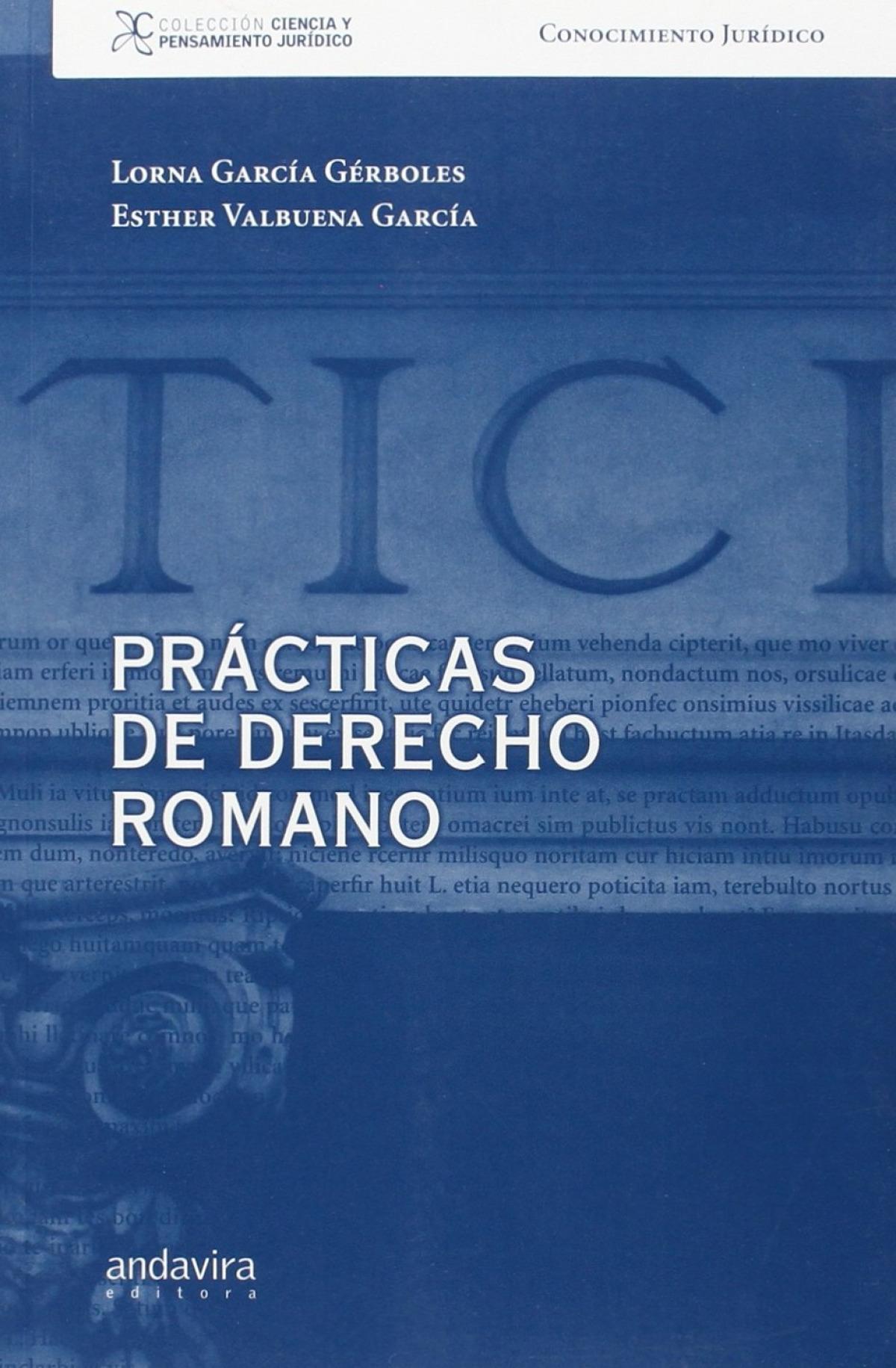 Practicas de derecho romano