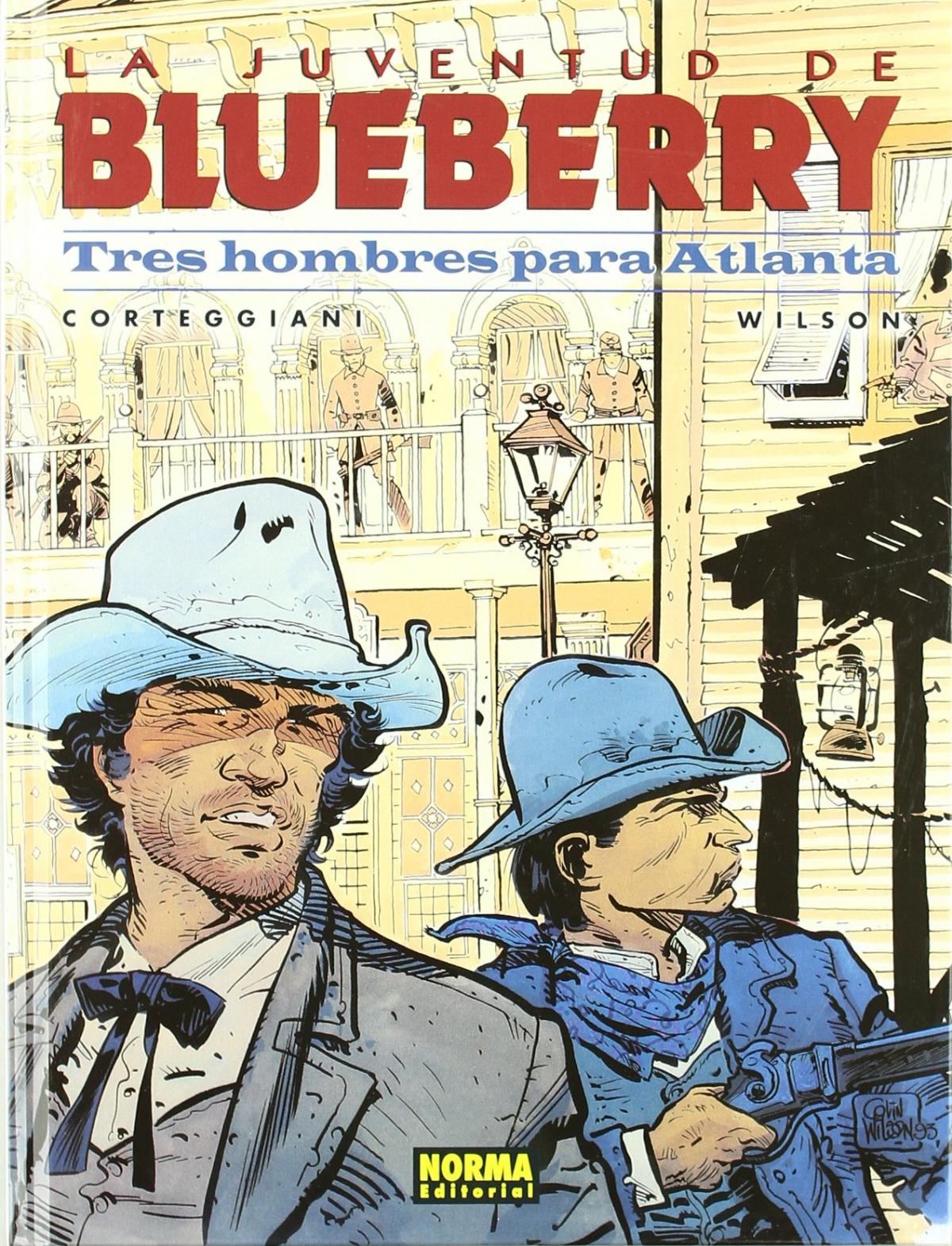 Blueberry, 33 Tres Hombres Para Atlanta