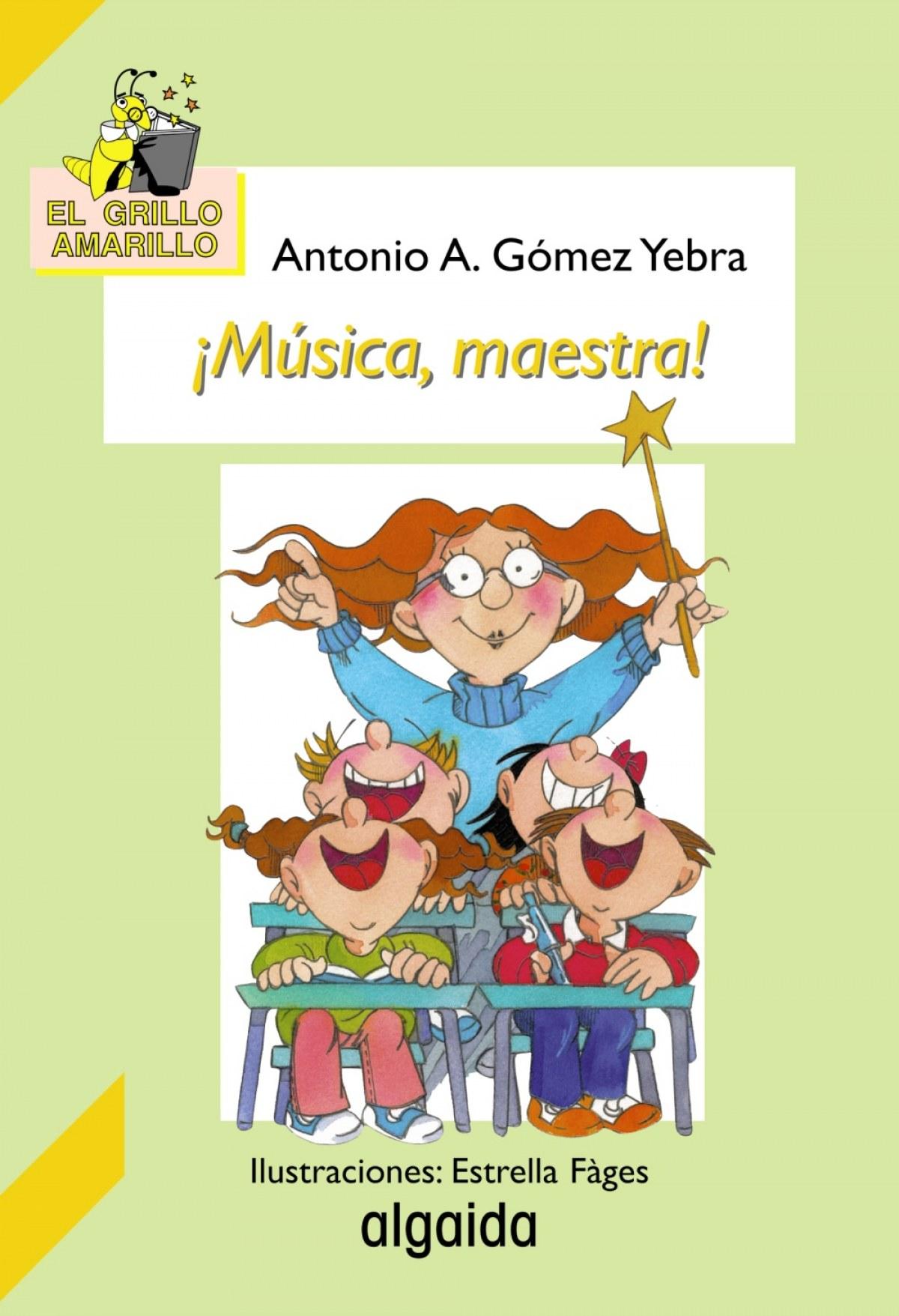 ¡Música, maestra!