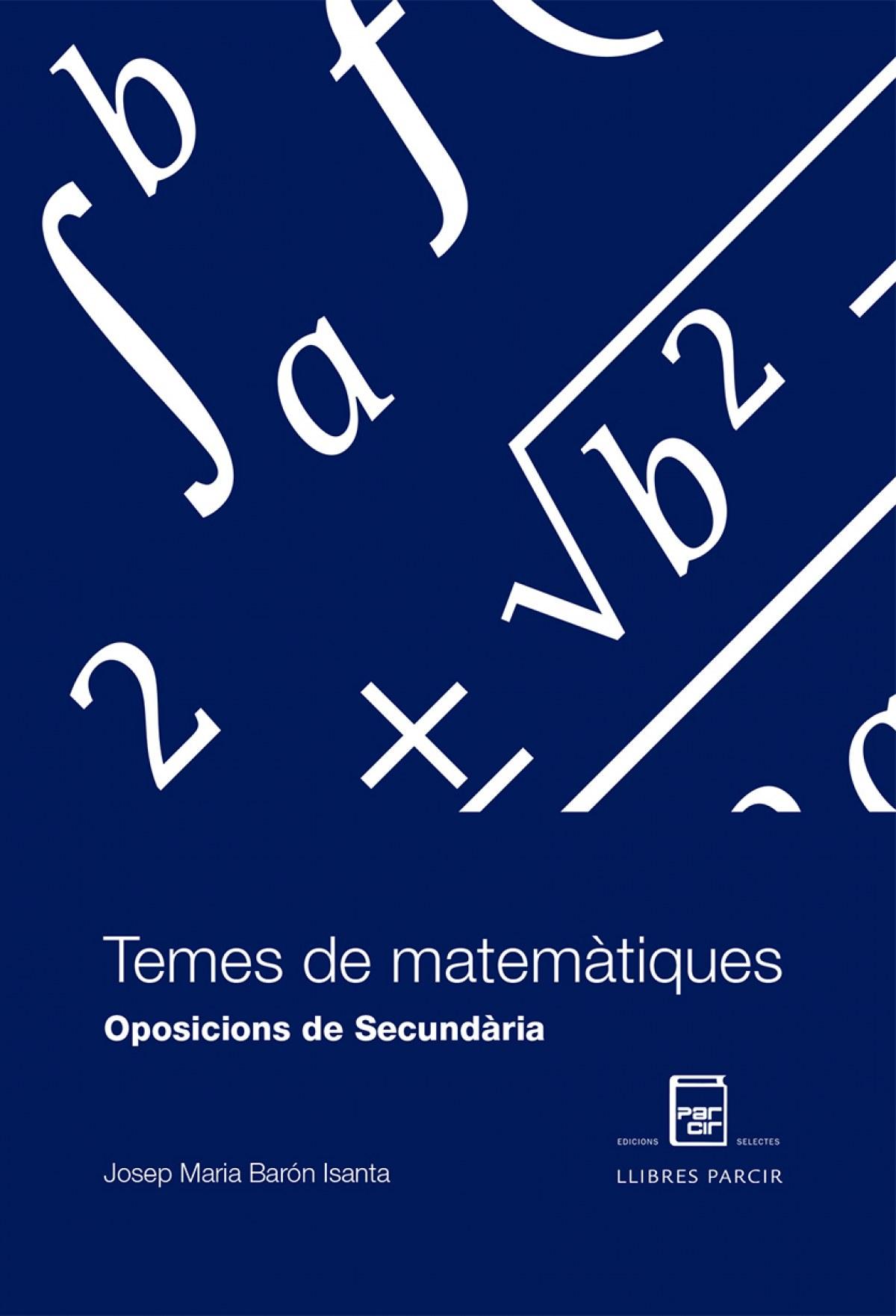 Temes de matemàtiques