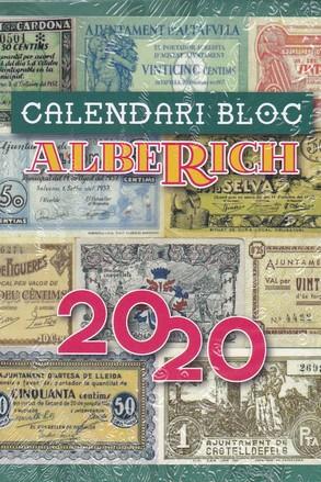 CALENDARI BLOC ALBERICH 2020