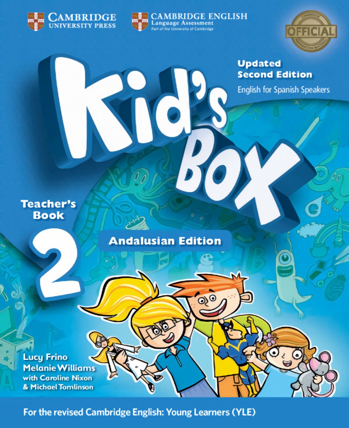 Kid's Box Level 2 Teacher's Book Updated English for Spanish Spea