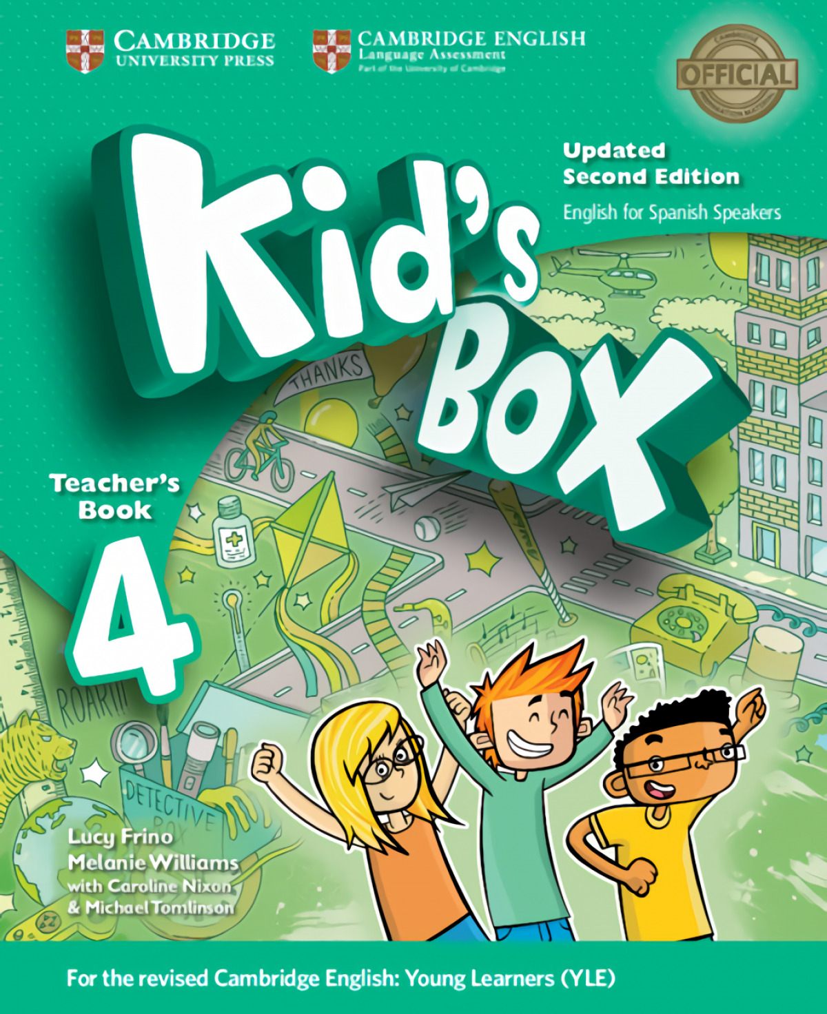 Kid's Box Level 4 Teacher's Book Updated English for Spanish Spea